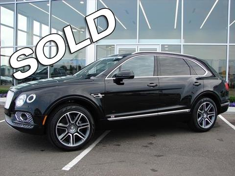 2018 Bentley Bentayga for sale in Troy, MI