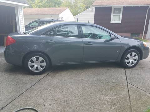 2008 Pontiac G6 for sale in Wickliffe, OH