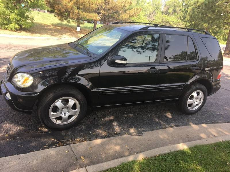 2002 Mercedes Benz M Class For Sale At AROUND THE WORLD AUTO SALES In
