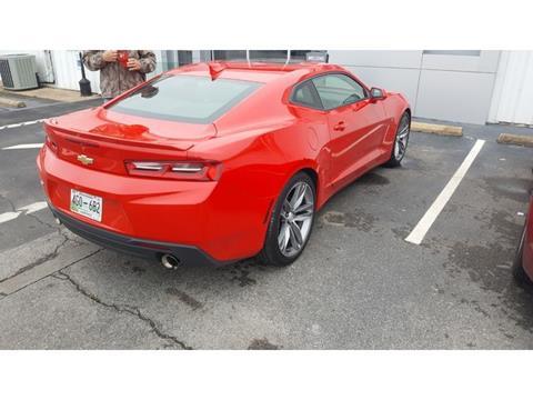 Used Chevrolet Camaro For Sale In Lawrenceburg Tn