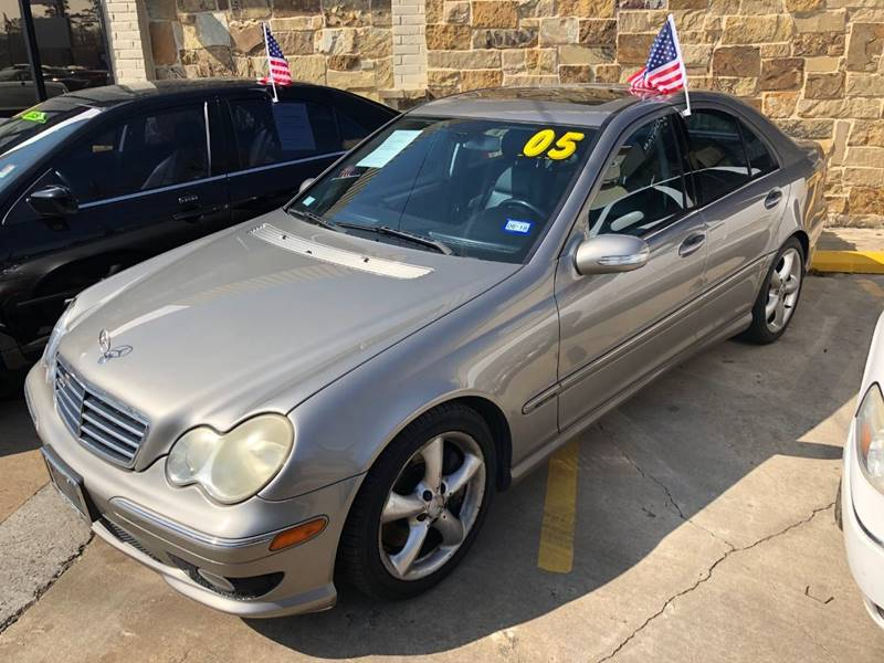 2005 Mercedes Benz C Class For Sale At Goldstar Auto Solutions Of Texas In