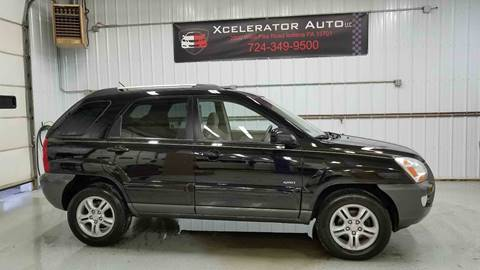 2007 Kia Sportage for sale at Xcelerator Auto LLC in Indiana PA