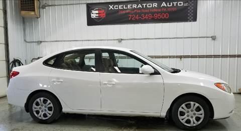2009 Hyundai Elantra for sale at Xcelerator Auto LLC in Indiana PA