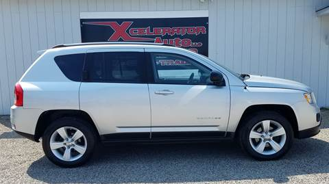 2011 Jeep Compass for sale at Xcelerator Auto LLC in Indiana PA