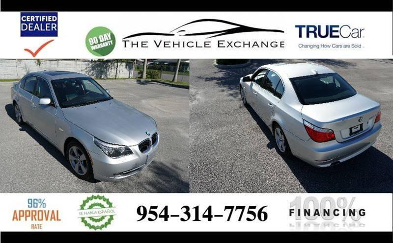 2008 BMW 5 Series 528xi In Davie FL - The Vehicle Exchange 2