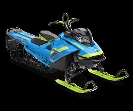 2018 Ski-Doo Summit X 165 850 E-TEC, Powder