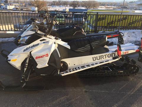 2016 Ski-Doo Summit Burton 154 800R E-TEC E