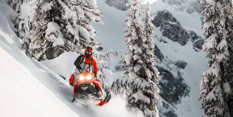 2019 Ski-Doo Summit X 165 850 E-TEC PowderM
