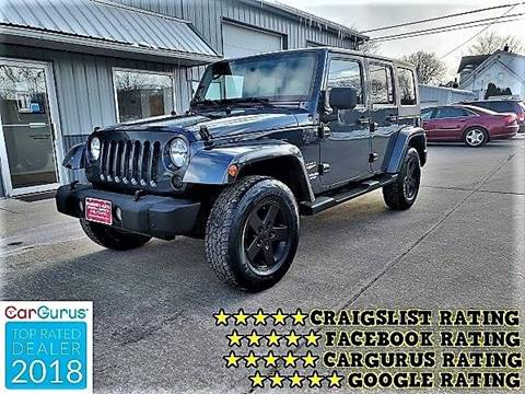 2007 Jeep Wrangler Unlimited for sale in Cedar Rapids, IA