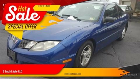 2003 Pontiac Sunfire for sale in Bristol, VA