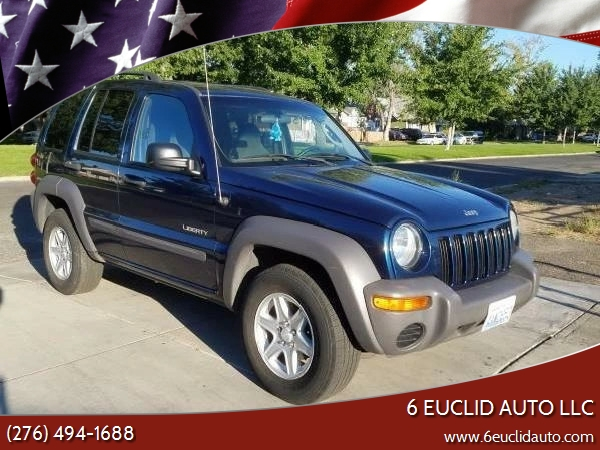 2003 Jeep Liberty For Sale At 6 Euclid Auto LLC In Bristol VA