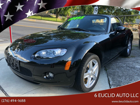 2006 Mazda MX-5 Miata for sale at 6 Euclid Auto LLC in Bristol VA