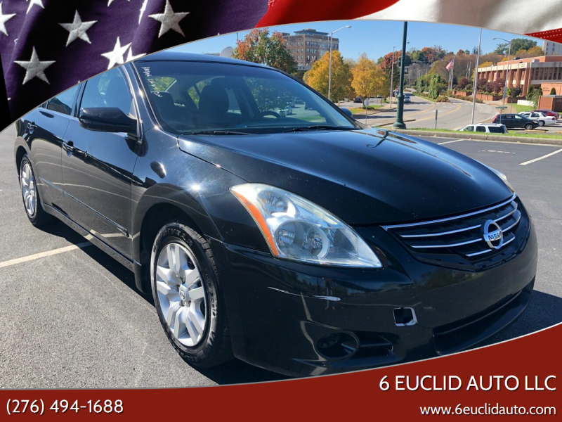 2011 Nissan Altima for sale at 6 Euclid Auto LLC in Bristol VA