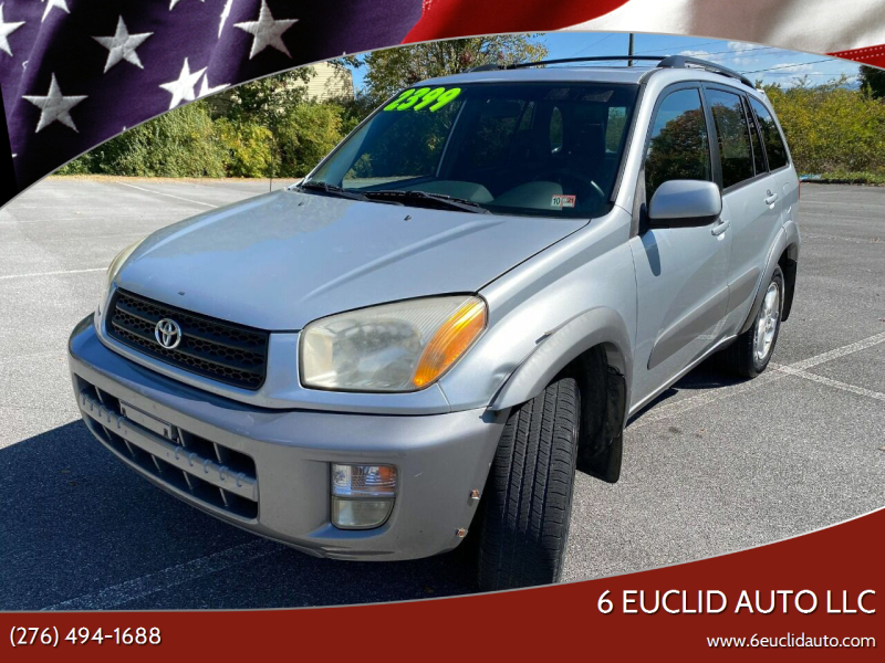 2001 Toyota RAV4 for sale at 6 Euclid Auto LLC in Bristol VA
