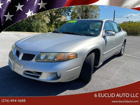 2005 Pontiac Bonneville for sale at 6 Euclid Auto LLC in Bristol VA