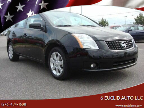 2009 Nissan Sentra for sale at 6 Euclid Auto LLC in Bristol VA
