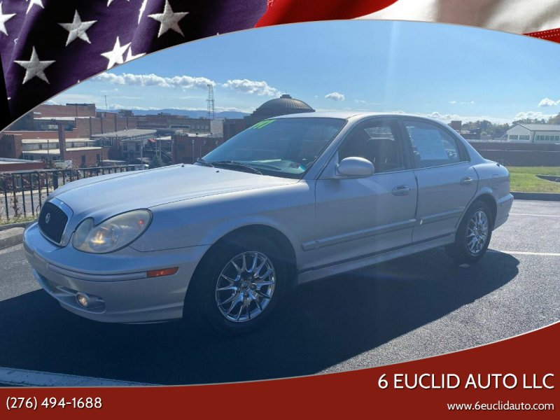 2003 Hyundai Sonata for sale at 6 Euclid Auto LLC in Bristol VA
