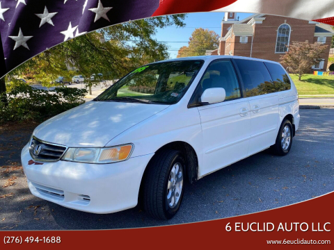 2004 Honda Odyssey for sale at 6 Euclid Auto LLC in Bristol VA