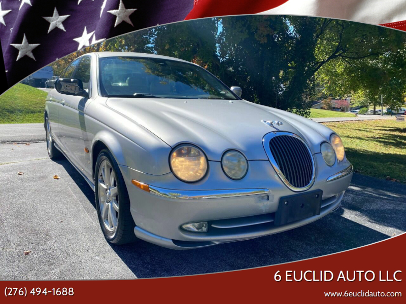 2001 Jaguar S-Type for sale at 6 Euclid Auto LLC in Bristol VA
