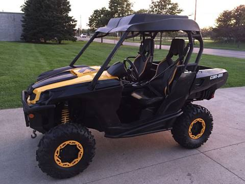 2011 Can-Am Commander 1000 X