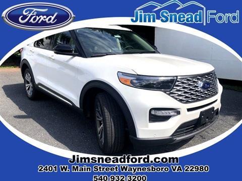 2020 Ford Explorer for sale in Waynesboro, VA