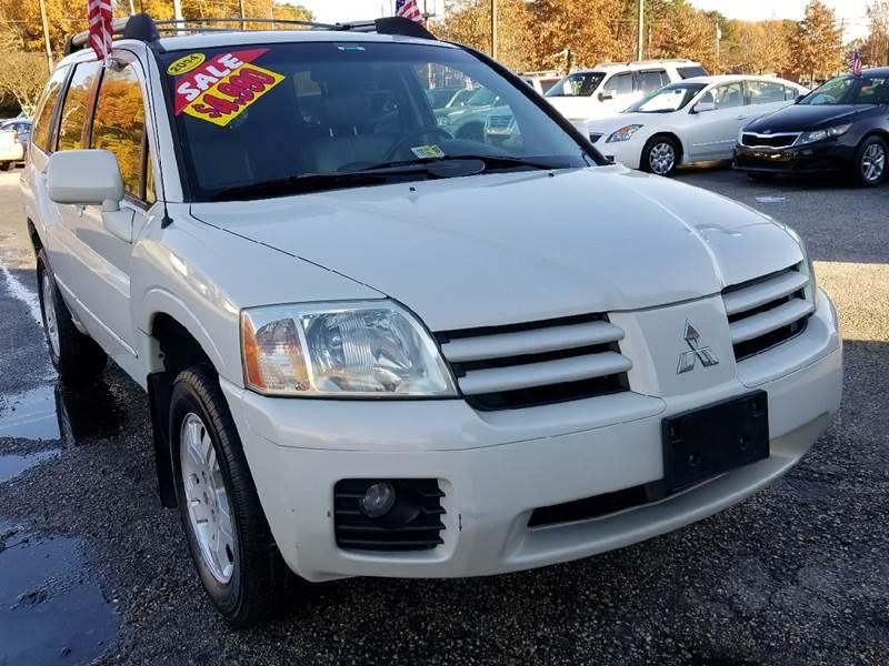 2004 Mitsubishi Endeavor Limited In Newport News Va King Motors