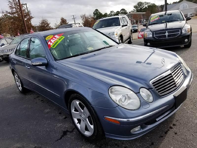 2004 Mercedes Benz E Class For Sale At King Motors In Newport News VA