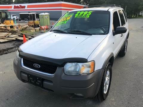 2002 Ford Escape for sale at Washington Auto Repair in Washington NJ