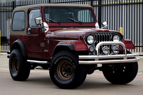 1985 Jeep CJ-7 for sale in Plano, TX