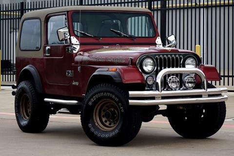 1985 Jeep CJ-7 for sale in Plano, TX
