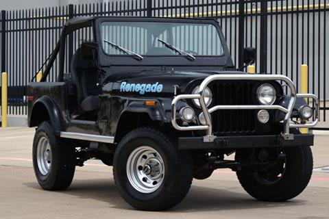 1977 Jeep CJ-7 for sale in Plano, TX