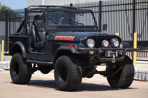 1977 Jeep CJ-7 for sale in Plano, TX