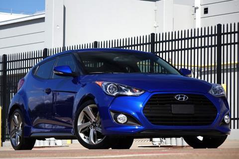 2013 Hyundai Veloster Turbo for sale in Plano, TX