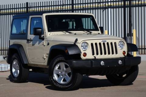 2012 Jeep Wrangler Sport for sale at Carrick's Autos in Plano TX