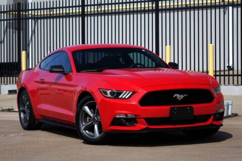 2015 Ford Mustang V6 for sale at Carrick's Autos in Plano TX