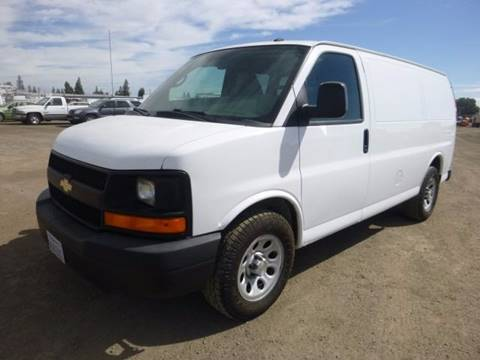 2013 Chevrolet Express Cargo for sale at Armstrong Truck Center in Oakdale CA