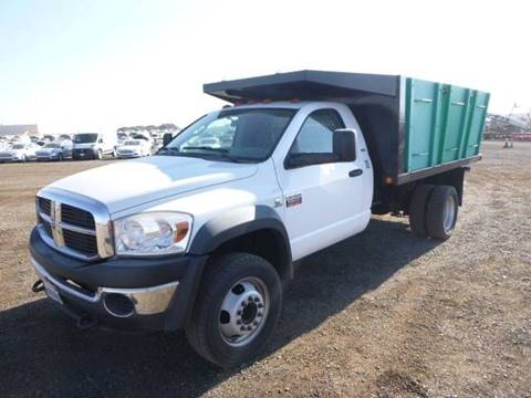 2008 Dodge Ram 5500 DUMP TRUCK for sale at Armstrong Truck Center in Oakdale CA