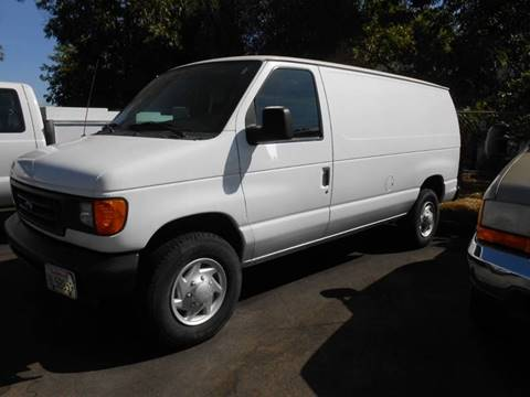 2007 Ford E-Series Cargo for sale at Armstrong Truck Center in Oakdale CA