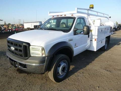 Utility Trucks For Sale >> 2007 Ford F 550 Super Duty For Sale In Oakdale Ca