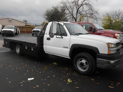 Flatbed Truck For Sale >> 2003 Chevrolet Silverado 3500 For Sale In Oakdale Ca
