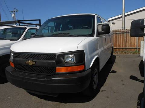2012 Chevrolet Express Cargo for sale at Armstrong Truck Center in Oakdale CA