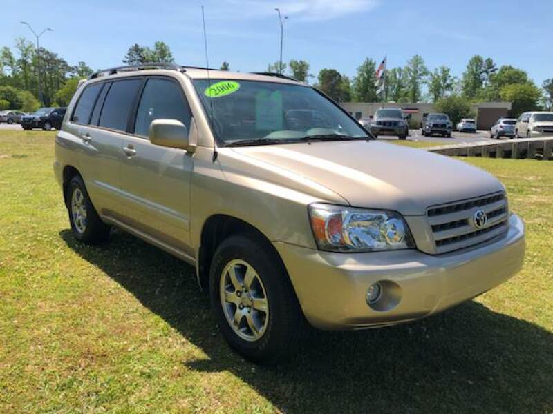 2006 Toyota Highlander for sale at IH Auto Sales in Jacksonville NC