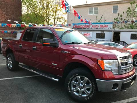 2013 Ford F150 For Sale >> Ford F 150 For Sale In Newark Nj Champion Auto Sales Llc