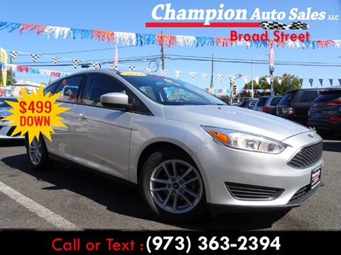 2018 Ford Focus for sale in Newark, NJ