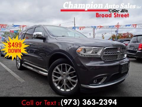 2014 Dodge Durango for sale in Newark, NJ
