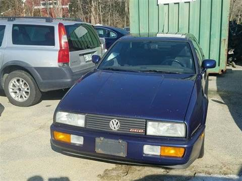 1991 Volkswagen Corrado for sale in Holderness, NH