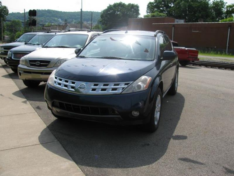 2003 Nissan Murano For Sale At TRAIN STATION AUTO INC In Brownsville PA