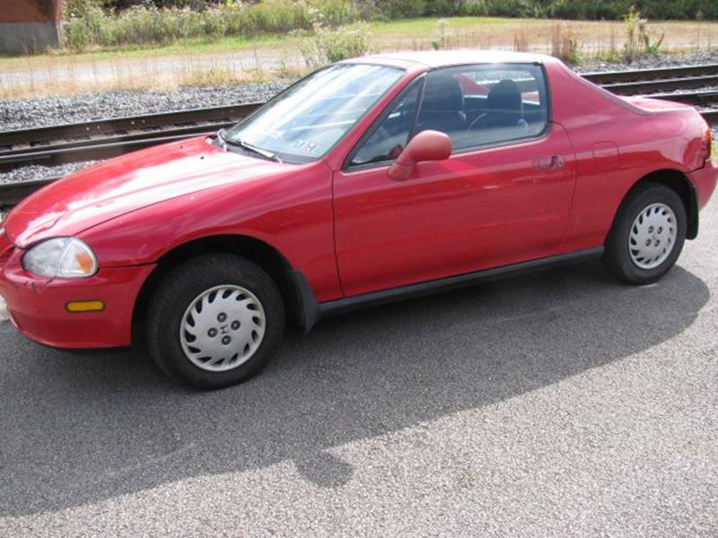 1993 Honda Civic del Sol for sale at TRAIN STATION AUTO INC in Brownsville PA
