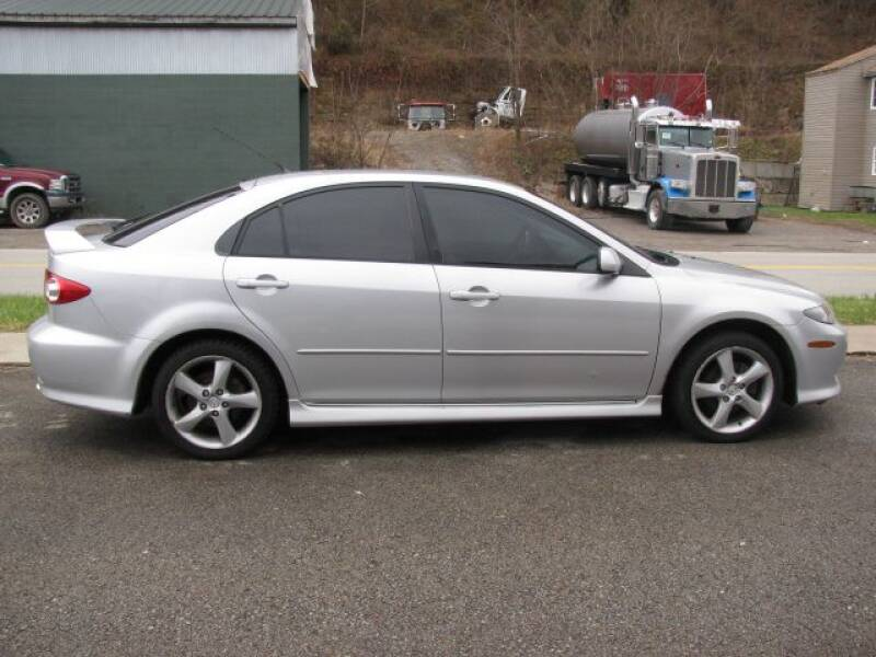 2004 Mazda MAZDA6 for sale at TRAIN STATION AUTO INC in Brownsville PA