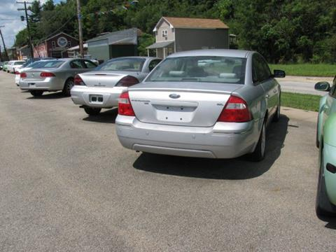 2005 Ford Five Hundred for sale at TRAIN STATION AUTO INC in Brownsville PA